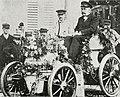Pierre de Crawhez, vainqueur de Bruxelles-Spa en juin 1898 sur Panhard.jpg
