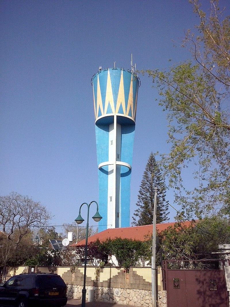 מגדל המים בגבעת מיכאל