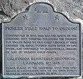 PioneerStageRoad Marker Crescent City, CA.jpg
