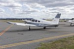 Piper PA-28R-200 Cherokee Arrow II (VH-HJX) at Wagga Wagga Airport (1).jpg