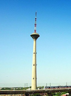 Pitampura TV Tower, built in 1988