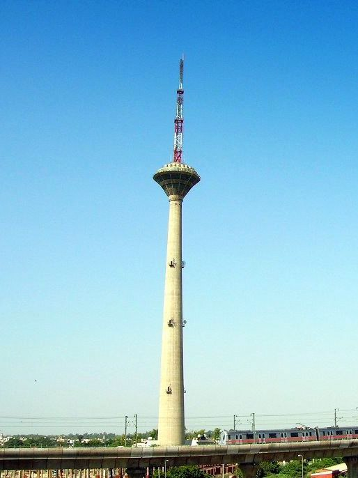 Pitampura TV Tower, Delhi, India