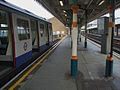 Plaistow station bay platform look east with C Stock.JPG