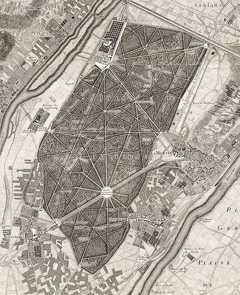 FilePlan de Roussel  Bois de Boulognejpg  Wikimedia Commons