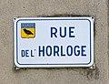 Plaque Rue de l'Horloge (Saint-Rambert-en-Bugey).jpg