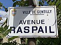 Plaque avenue Raspail Gentilly Val Marne 1.jpg