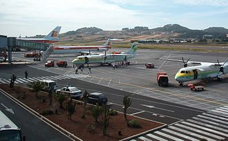 Tenerife-North Airport - Apron view