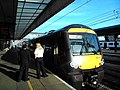 Platform souls, train staff await departure from Cambridge, 2015 - panoramio.jpg