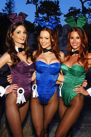 Playboy Mansion - Playboy Bunnies at the Mansion, 2011