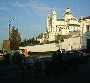 Pochaiv - Image: Počajiv' near Lavra panoramio
