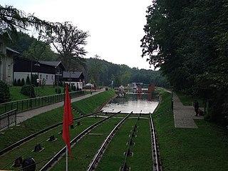 Buczyniec Village in Warmian-Masurian Voivodeship, Poland