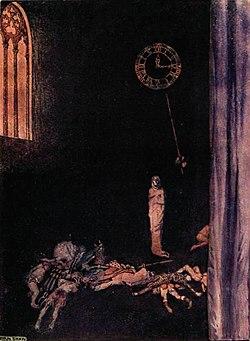 Poe red death byam shaw