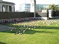 Poignant memorials on Tower Hill - geograph.org.uk - 1012724.jpg