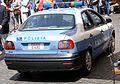 Police car in Rome Italy.JPG