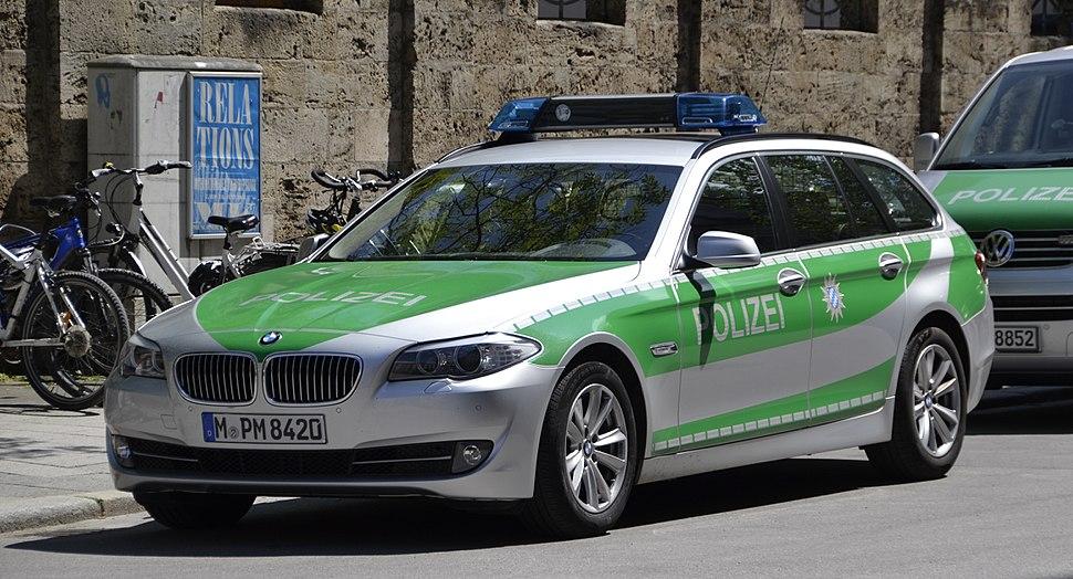 Polizei-BMW - München