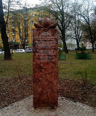 Digvijaysinhji Ranjitsinhji - Memorial in Warsaw