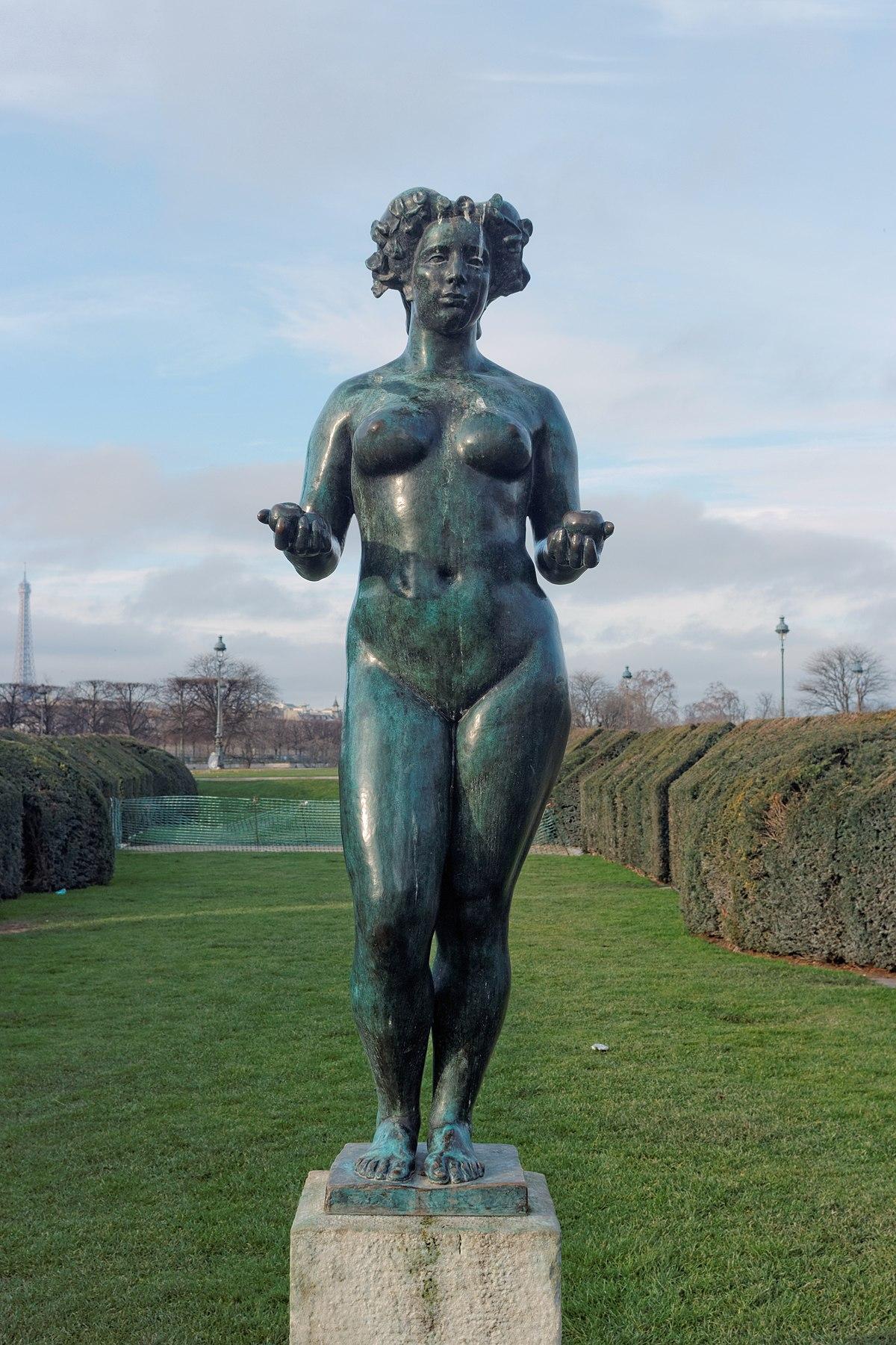 Pomone maillol wikip dia - Sculpture jardin des tuileries ...