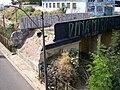 Ponte que deu origem ao bairro Ponte Preta -vandalizada.JPG