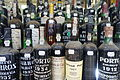 Port bottles - Lisbon, Portugal - DSC07059.JPG