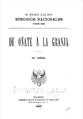 """Portada de """"De Oñate a La Granja"""" de Galdós (1907).png"""