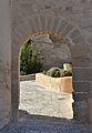 Portal d'accés a l'albacar d'enmig, castell de santa Bàrbara, Alacant.JPG