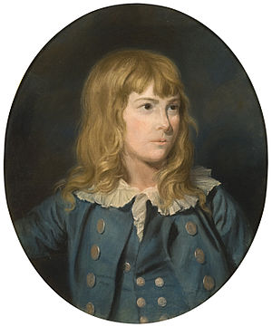 Thomas Holloway (painter) - Portrait of a boy by Thomas Holloway, probably his nephew, in pastels.