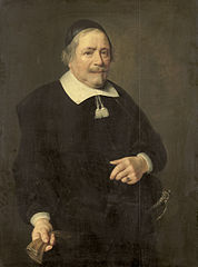 Portrait of a Man, presumably Willem van de Velden, Secretary to Hugo de Groot