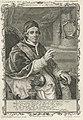 Portret van paus Clemens XIV Clemens XIV. P.M. (titel op object), RP-P-1908-876.jpg