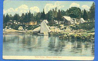 Mason's Island - Mason's Island Camp Colony