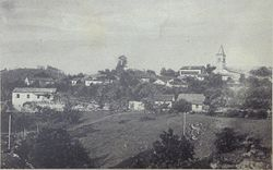 1934 postcard of Jelšane