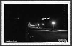 Postcard of Ljubljana, Tivoli Park at night (2).jpg