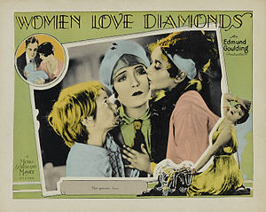 Women Love Diamonds - Theatrical lobby card