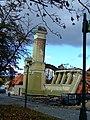 Praha, Holešovice, vyhořelý Průmyslový palác II.jpg