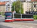 Praha, Nusle, nám. Hrdinů, Škoda 15T č. 9217.jpg