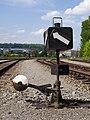 Praha-Smíchov seřaďovací nádraží, výhybka.jpg