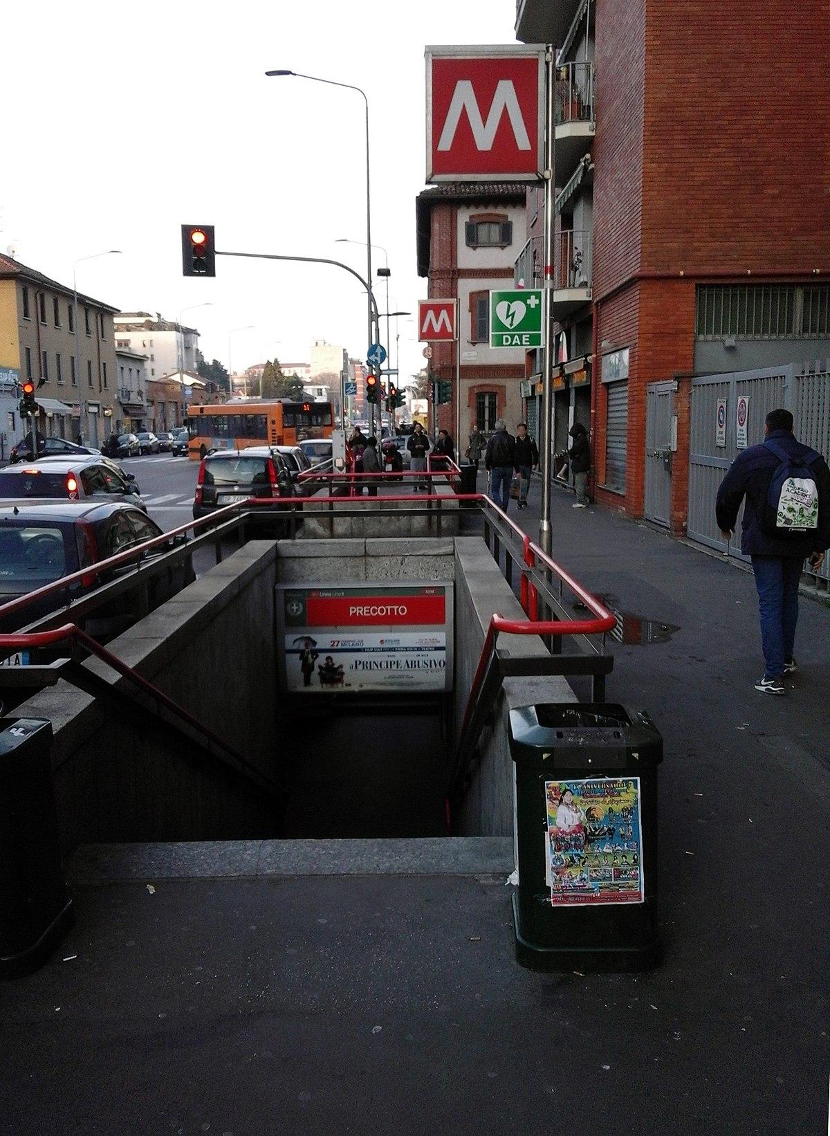 Precotto milan metro wikipedia for Www presotto it