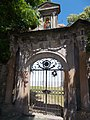 Preobrazsenszka Church. Listed ID 7338. Gate with painting. - Hungary, Pest County, Szentendre, Bogdányi Rd 42.JPG