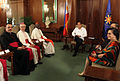 President Aquino with Robert Cardinal Sarah during the courtesy call at the Music Room of Malacañan Palace (4).jpg