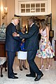 President Donald Trump shaking hands with Kenya's President Uhuru Kenyatta.jpg