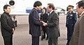 Presidente boliviano, Evo Morales visita a Gobierno Nacional. Canciller Patiño recibe en base aérea (5078805241).jpg
