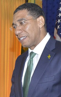 Andrew Holness 9th Prime Minister of Jamaica
