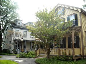 Princeton Historic District (Princeton, New Jersey) - Historic residential architecture in the district