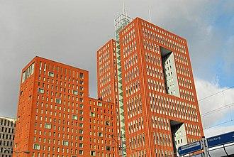 Beatrixkwartier - The Prinsenhof building, host to WTC The Hague