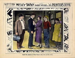 <i>The Printers Devil</i> (film) 1923 film