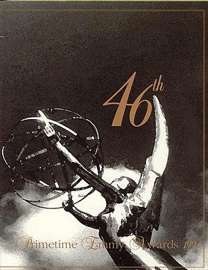 46th Primetime Emmy Awards - Promotional poster