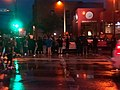 Protesters outside the Minneapolis 3rd Police Precinct May 26 2020.jpg