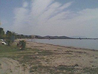 Psakoudia - Image: Psakoudia, Chalkidiki, main beach