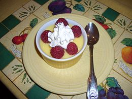 Pudding With Raspberries and Whipped Cream.jpg