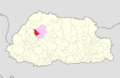 Punakha Kabesa Gewog Bhutan location map.png