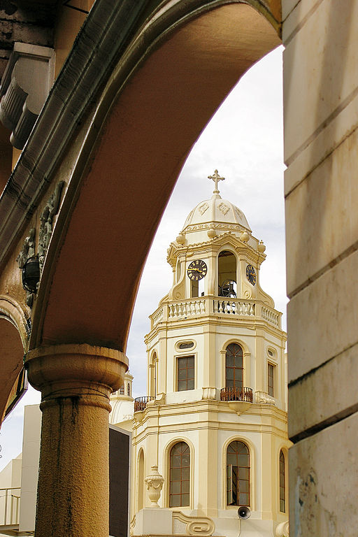 7th place: Bell tower of the Quiapo Church in Manila, by Obra19